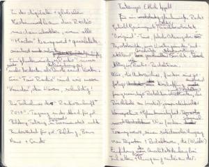 Der Anfang: erste Aufzeichnungen zum Tutzinger Appell von Udo Seiwert-Fauti