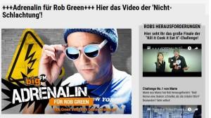 Karnickel-Retter Rob Green - mehr Moralin statt Adrenalin