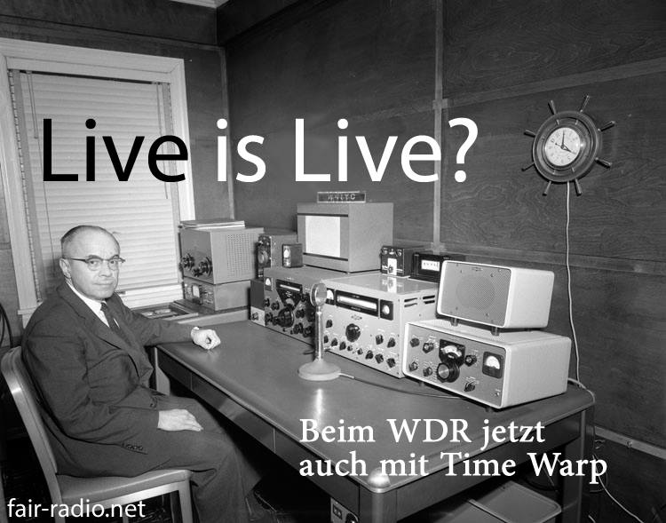 WDR TimeWarp fair radio
